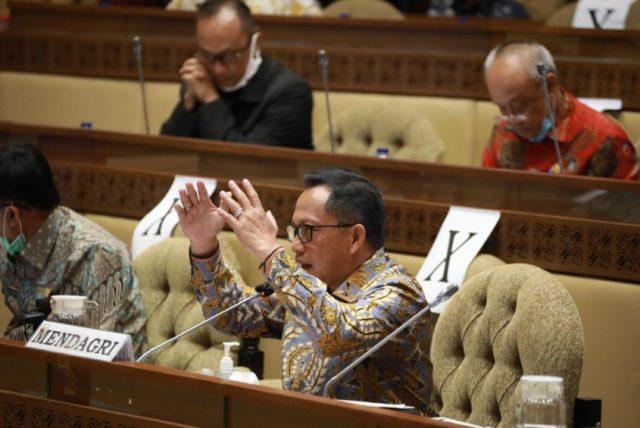 DPR RI Berikan Pujian Kinerja Kemendagri dan Minta Kawal Koordinasi Pencairan NPHD Pilkada