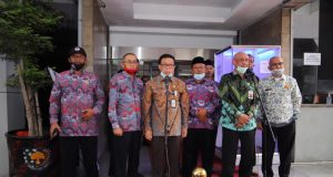PPDI Audiensi ke Kemendagri Bahas Perangkat Desa dan Dana Desa