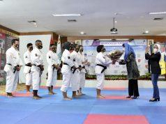 Hadiri Pembukaan Kejurnas Shorinji Kempo 2020, Ketua Perwosi Jatim : Solidaritas Sesama Atlet Tidak Boleh Kendor