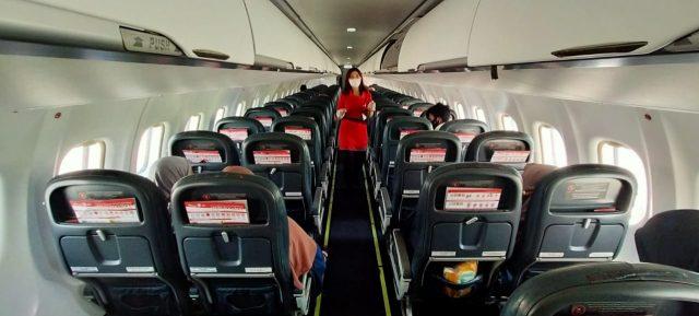 Kinerja Sirkulasi dan Kualitas Udara dalam Pesawat ATR 72 Wings Air Terjamin Baik