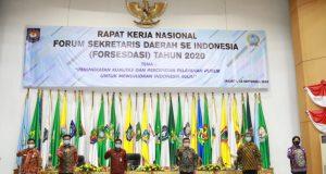 Sekjen Kemendagri Minta Sekda se-Indonesia Ikut Sukseskan Pelaksanaan Pilkada Serentak 2020
