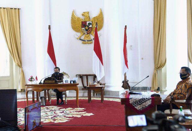 Presiden Kepada para Gubernur: Tetap Fokus Kendalikan Covid-19