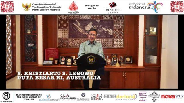 Virtual Festival Indonesia Perth 2020 Dorong Penguatan Citra Pariwisata Indonesia