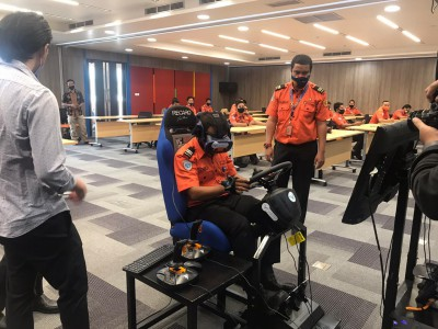 Transformasi Digital Masuki Babak Baru, PT Angkasa Pura II Resmi Buka Pelatihan ARFF Berbasis Teknologi Virtual Reality
