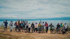 Geobike Kaldera Toba #6 Promosikan Pariwisata Toba di Era Normal Baru