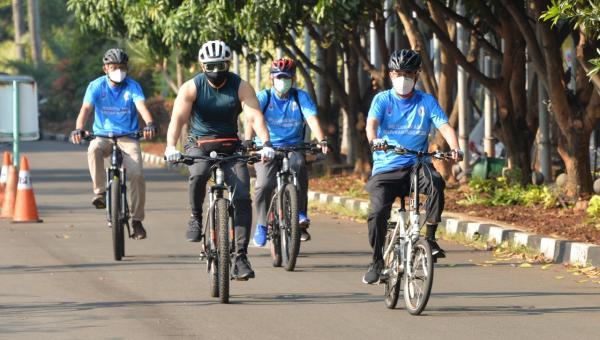 Rangkaian Harhubnas 2020 : Kementerian Perhubungan Selenggarakan Sosialisasi Aturan Keselamatan Pesepeda Di Jalan