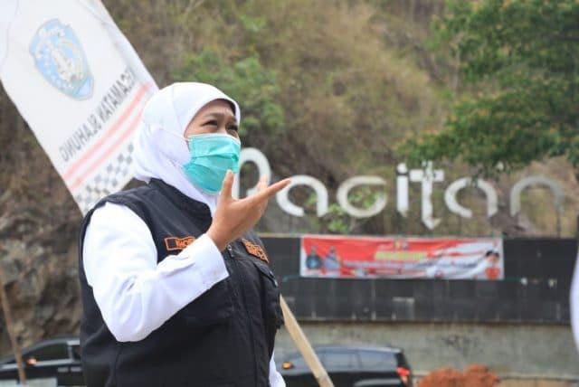 Tinjau Jembatan Tangkeban Ponorogo - Pacitan, Gubernur Jatim Minta Utamakan Keselamatan Pengguna Jalan