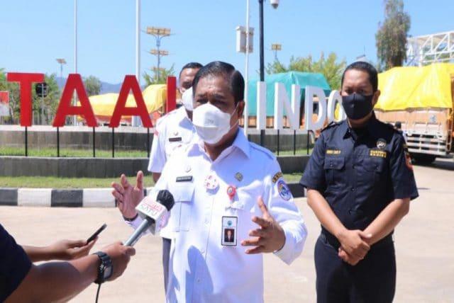 Di Tengah Pandemi, Indonesia Tetap Layani Kegiatan Ekspor dari PLBN Motaain ke Timor Leste