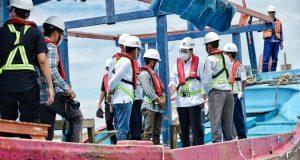Tinjau Progres Pelabuhan Patimban, Menhub Dengar Aspirasi Nelayan Patimban