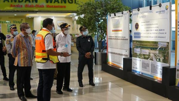 Menhub Tinjau Pengembangan Tiga Bandara Di Kalteng Dan Kalbar