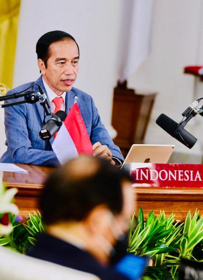 Presiden Jokowi Dorong Akses Vaksin Covid-19 Dibuka Bagi Semua Negara