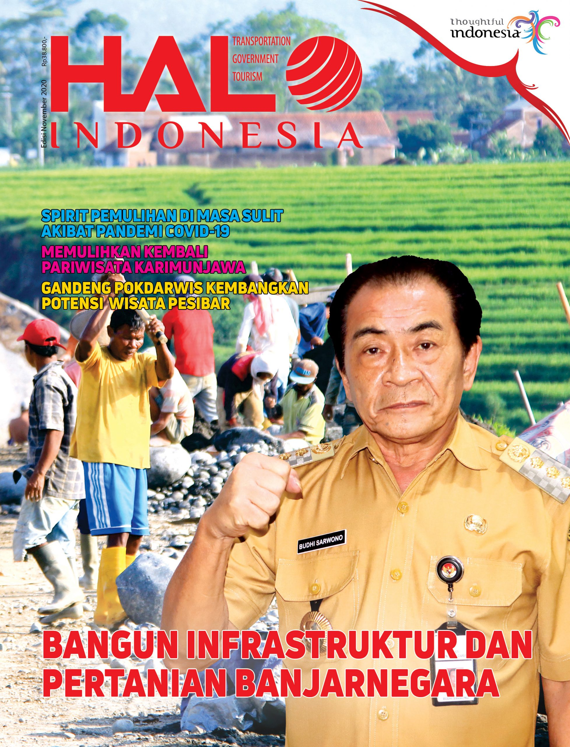 Cover Halo Indonesia Magazine edisi November