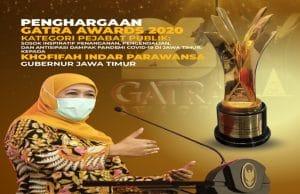 Gubernur Jatim: Penghargaan Penanganan dan Pengendalian Covid-19 Ini Apresiasi Untuk Rakyat Jawa Timur
