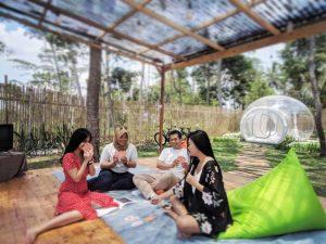 Menginap di Alam Terbuka ala Nira Camper Village