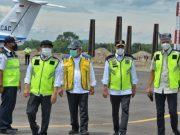 Menhub Tinjau Progres Pembangunan Bandara Ngloram, Blora Jawa Tengah