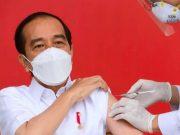 Presiden Terima Vaksin Covid-19 Perdana
