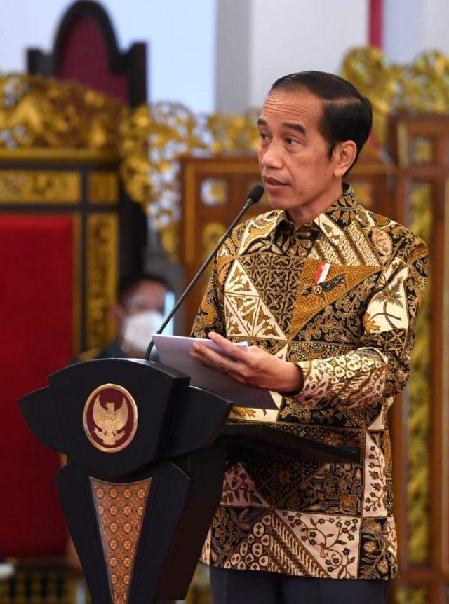 Enam Arahan Presiden dalam Rakornas Pengendalian Karhutla 2021
