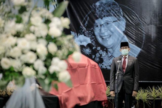 Menparekraf: I Gede Ardika Punya Sumbangsih Besar Terhadap Pariwisata Indonesia