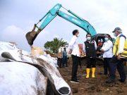 Presiden Tinjau Tanggul Citarum yang Jebol di Kabupaten Bekasi