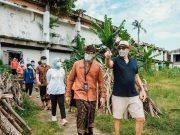 Menparekraf Tinjau Lokasi Vaccine Drive Thru di Bali