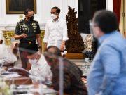 Presiden Pimpin Rapat Terbatas Bahas Persiapan Penyelenggaraan PON XX dan Peparnas XVI Papua