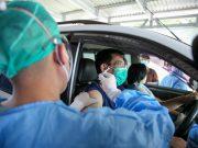 PPK Kemayoran Dukung Program Pelaksanaan Vaksinasi Covid-19 Drive Thru Bagi Lansia
