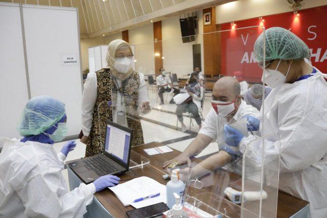Dukung Program Pemerintah, Kemensetneg Laksanakan Vaksinasi Covid-19