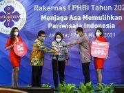 Buka Rakernas I PHRI 2021, Menparekraf Ajak Bersama Pulihkan Sektor Pariwisata