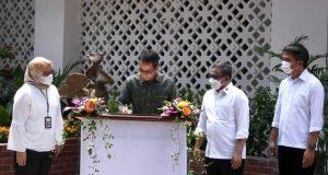 Kepala Sekretariat Presiden Resmikan Ruang Konservasi Benda Seni Istana Kepresidenan Jakarta