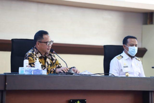 Di Sulawesi Selatan, Mendagri Minta Pemulihan Ekonomi Paralel dengan Penanganan Covid-19