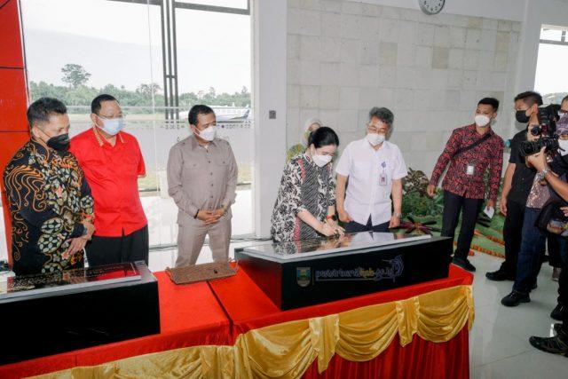 Ketua Dpr Republik Indonesia Resmikan Nama Bandara Muhammad Taufiq Kiemas Dan Jalan Fatmawati Soekarno