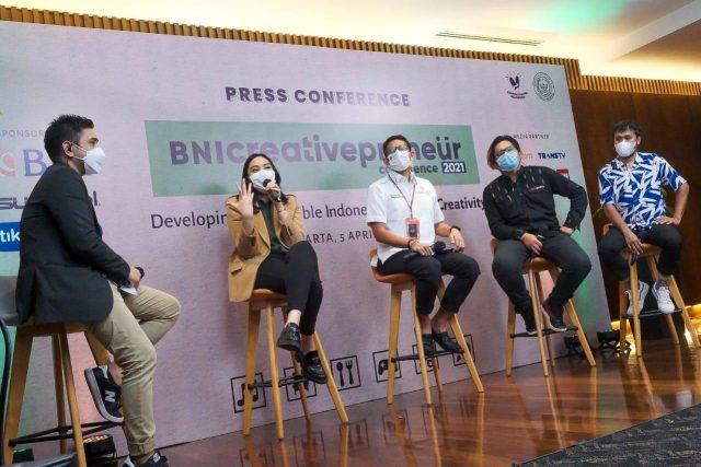 Menparekraf Dukung Creativepreneur Conference 2021 untuk Kembangkan Ekraf