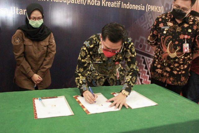 Kemenparekraf Dorong Minahasa Utara Kembangkan Potensi Ekraf Lewat PMK3I
