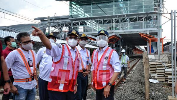 Menhub Targetkan Revitalisasi Stasiun Bekasi Selesai Akhir Tahun 2021