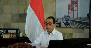 Menhub Dukung Inovasi Lrt Jakarta Bangun Sistem Transportasi Terintegrasi