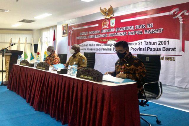Diskusi RUU Otsus, Kemendagri ajak Gotong-Royong Bangun Papua dan Papua Barat
