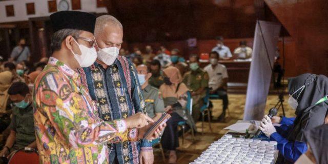 GANAS Berlanjut, 559 Pejabat Fungsional Pemerintah Aceh Jalani Tes Narkoba