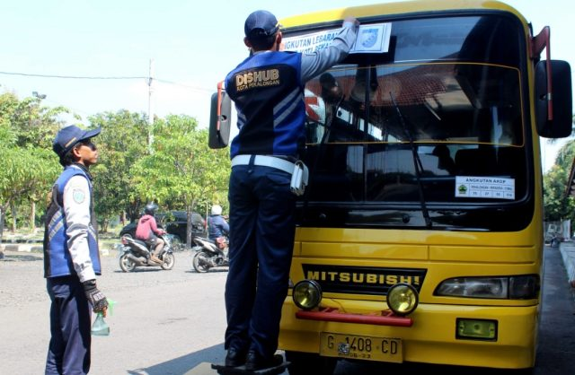 Kemenhub: Bus Berstiker Khusus Bukan untuk Melayani Pemudik