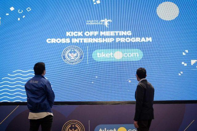 Kemenparekraf Gandeng tiket.com Gelar Cross Internship Program