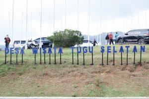 Menparekraf Sosialisasi Anugerah Desa Wisata Indonesia (ADWI) 2021 di Desa Wisata Tugu Selatan