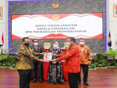 Harapan BPK RI, Seluruh Pemda Di Papua Raih Opini WTP
