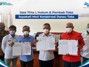 PJT I, Inalum dan Pemkab Toba Sepakati MoU Konservasi Danau Toba