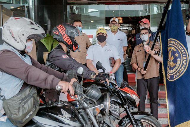 Menparekraf Minta Komunitas Otomotif Perkuat CHSE saat Wisata Berkendara