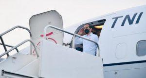 Bertolak ke Kendari, Kasetpres: Presiden Ingin Pastikan Pemda Aktif dalam Penanganan Covid-19