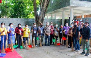 Pelaku Industri Parekraf Ikuti Gerakan BISA dan CHSE di Taman Renungan Bung Karno Ende