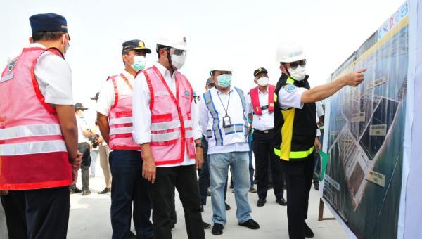Progres Pembangunan Berjalan Baik, Menhub Pimpin Rapat Percepatan dan Optimalisasi Layanan di Pelabuhan Patimban