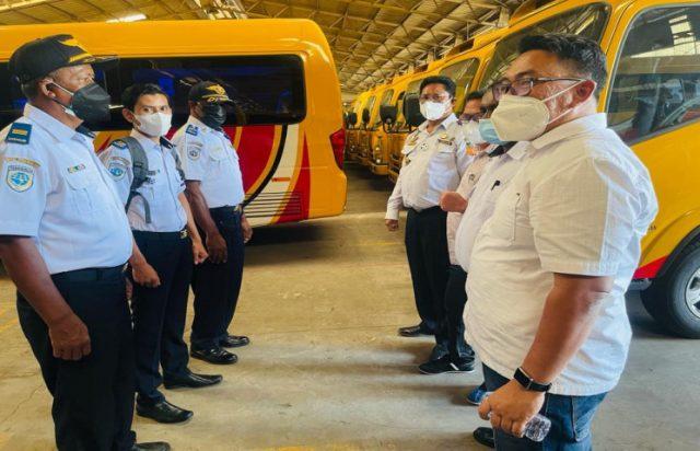 217 Bus Operasional PON Papua Mulai Dipasangi GPS