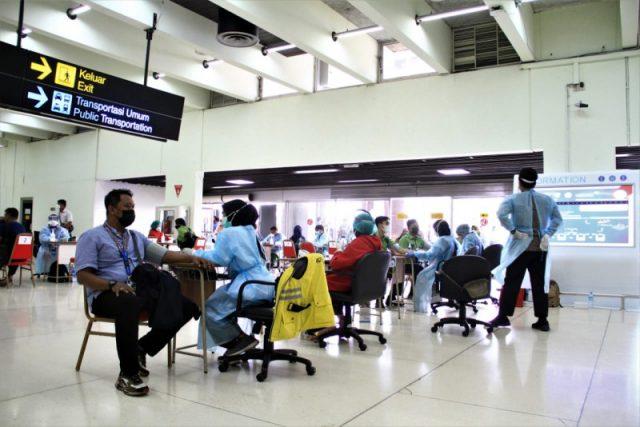 Sentra Vaksinasi Bandara Soekarno-Hatta Kini Dukung Setiap Jadwal Penerbangan Selama 24 Jam