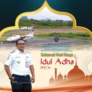UPBU Bandar Udara Malinau Robert Atty Bessing