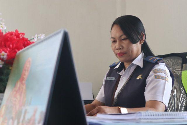 KTU Bandara Mali Alor Gemar Belajar Hal Baru